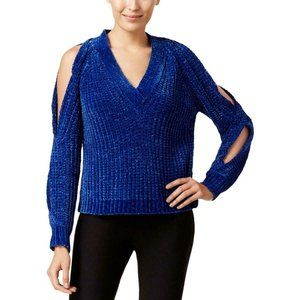 Marled Reunited Clothing Twist Shoulder Sweater